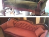 Empire Sofa - Before & After Photos