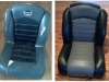 Boat Seats - Before & After Photos